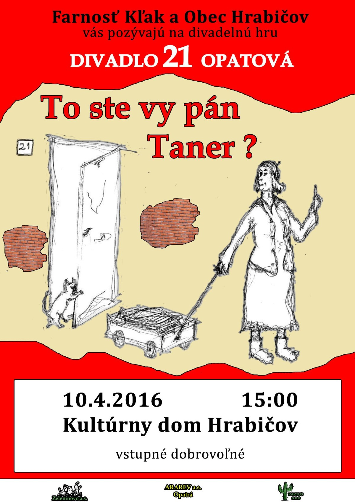To ste vy pán Taner?